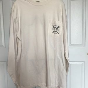 Comfort Colors Sigma Chi Long Sleeve Large